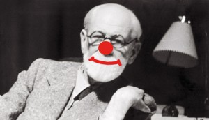 freud clown